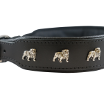 Black Bulldog Collar by Bullymake