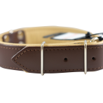 Brown/Tan Collar by Bullymake
