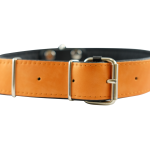 Orange/Black Collar by Bullymake