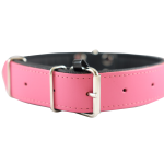 Pink/Black Collar by Bullymake
