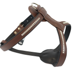 Brown Bullymake Harness With Studs