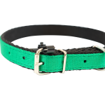 Dark Green Nylon Collar by Bullymake