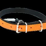 Orange Nylon Collar by Bullymake