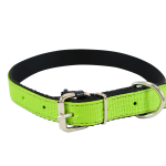 Light Green Nylon Collar by Bullymake