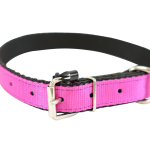 Pink Nylon Collar by Bullymake
