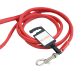 Red Round Leash by Bullymake