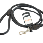 Black Round Leash by Bullymake