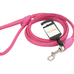 Pink Round Leash by Bullymake