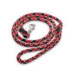 BULLYMAKE Heavy Duty Nylon Leash - Red & Black