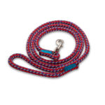 BULLYMAKE Heavy Duty Nylon Leash - Red, Grey, & Purple